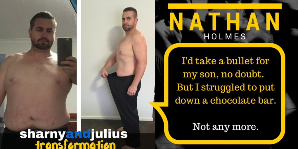 Nathan Holmes Fit Dad Transformation