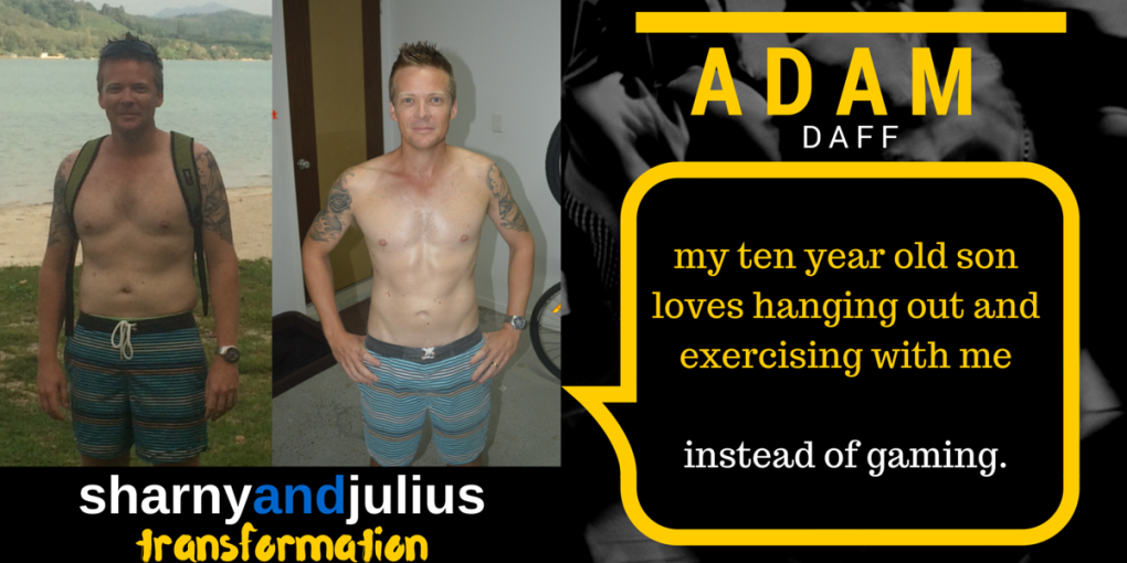 Sharny and Julius Transformation - Fitdad Adam Daff