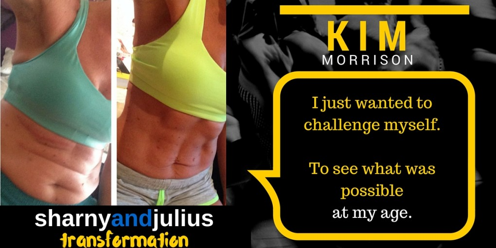 Sharny and Julius Fitmum transformation kim morrison