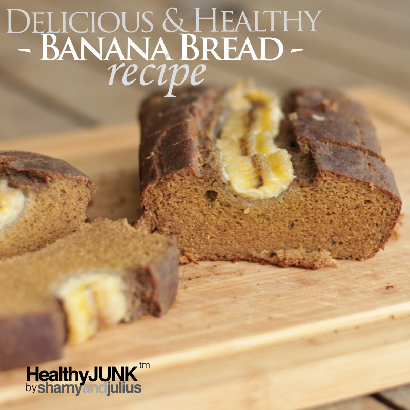 healthy junk banana bread